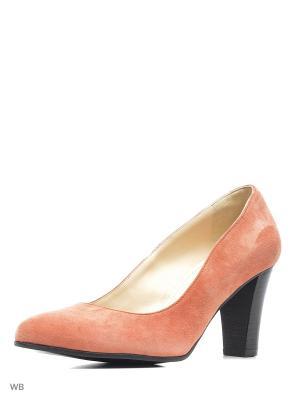 Туфли Gianmarco Benatti. Цвет: коралловый