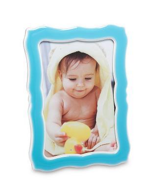 Фоторамка Семейная Идиллия 10*15 Bellezza casa. Цвет: голубой