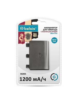 Аккумулятор с кабелем для зарядки джойстика XBOX ONE Belsis. Цвет: черный