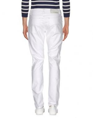 Джинсовые брюки NICWAVE. Цвет: белый