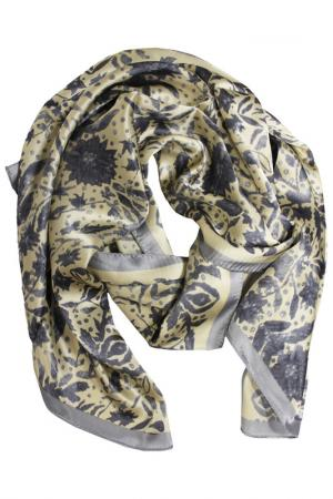 Шелковый шарф SHALBE. Цвет: мультиколор