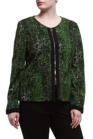 Жакет Paola Joy. Цвет: зеленый