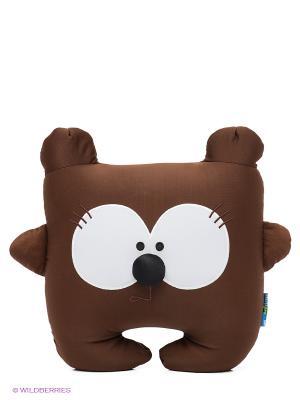 Медведь Потап MAXITOYS. Цвет: темно-коричневый