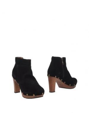 Полусапоги и высокие ботинки SCHOLL. Цвет: черный