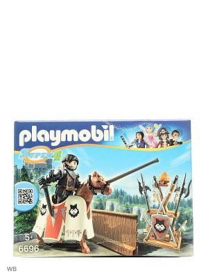 Супер4: Рыцарь Райпан, Стражник Черного Барона Playmobil. Цвет: черный