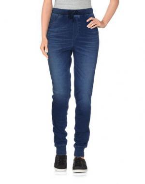 Повседневные брюки MADE GOLD. Цвет: синий