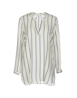 Блузка BELLA JONES. Цвет: белый
