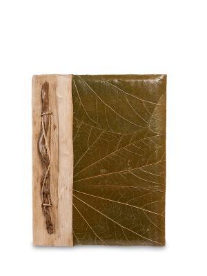 Блокнот Гербарий (о.Бали) мал. Decor & gift. Цвет: зеленый