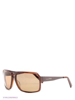 Солнцезащитные очки GF 960 03 Gianfranco Ferre. Цвет: бордовый, черный
