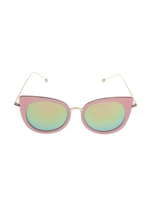 Очки солнцезащитные Migura. Цвет: розовый, зеленый, золотистый