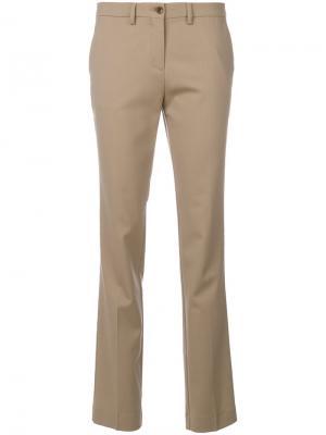 Классические брюки чинос Etro. Цвет: телесный