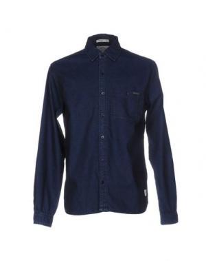 Джинсовая рубашка PEPE JEANS HERITAGE. Цвет: синий