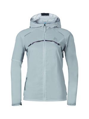 Куртка Odlo. Цвет: серый