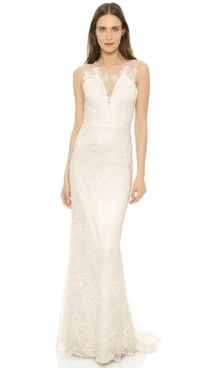 Платье Yasmin Catherine Deane. Цвет: свадебный кремовый