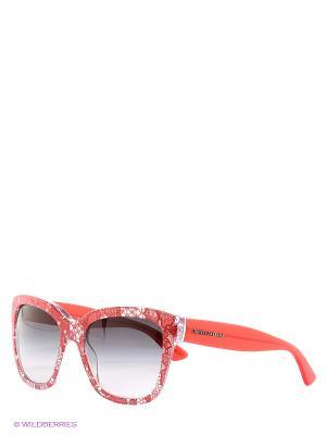 Очки солнцезащитные DOLCE & GABBANA. Цвет: малиновый, черный