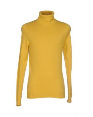 Водолазки SCAGLIONE. Цвет: желтый