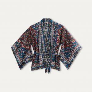 Рубашка BIANCA MES DEMOISELLES. Цвет: наб. рисунок красный