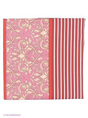 Комплект постельного белья из бязи Евро Василиса. Цвет: коралловый, кремовый, бледно-розовый