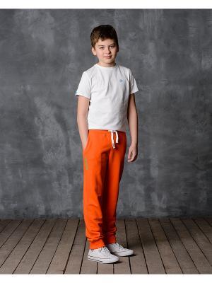Брюки Modniy JUK. Цвет: оранжевый
