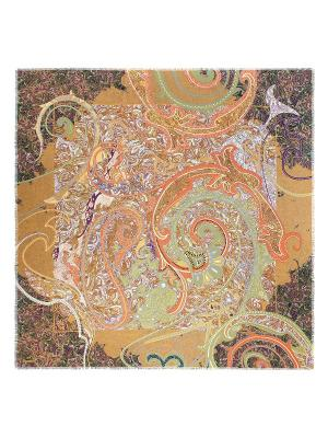 Платок Eleganzza. Цвет: светло-коричневый, светло-оранжевый, фиолетовый
