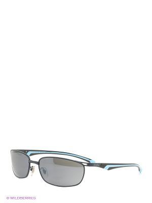 Солнцезащитные очки RH 744 04 Zerorh. Цвет: черный, голубой