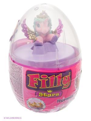 Игровой набор лошадки Филли/Filly Звезды в яйце Hermia Dracco. Цвет: розовый