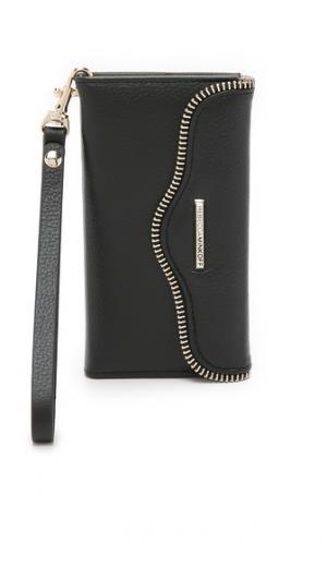 Кожаный чехол-книжка для iPhone 6/6s с ремешком на запястье Rebecca Minkoff