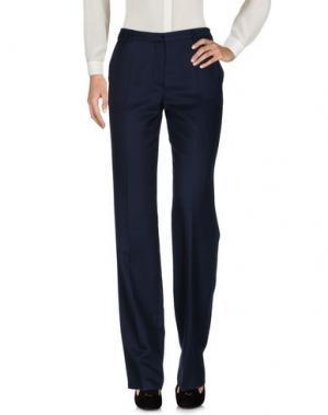 Повседневные брюки POLLINI by RIFAT OZBEK. Цвет: темно-синий