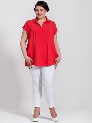 Блузка Silver-String. Цвет: красный