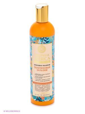 Бальзам облепиховый для нормальных, сухих волос 400мл Natura Siberica. Цвет: оранжевый