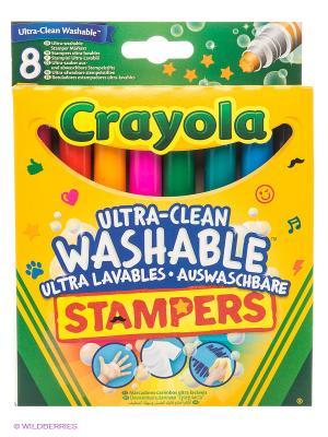 Набор мини-штампов Животные Crayola. Цвет: желтый