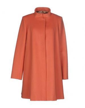 Пальто TARA JARMON. Цвет: лососево-розовый