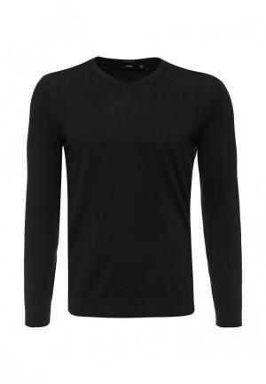 Пуловер Boss. Цвет: черный