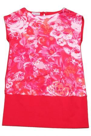Платье Pinco Pallino. Цвет: розовый, принт