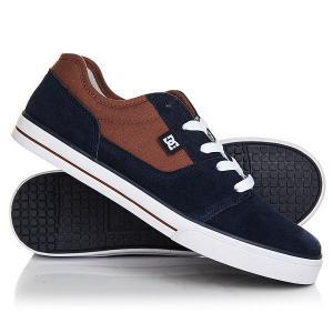 Кеды кроссовки низкие детские DC Tonik Brown/Blue Shoes. Цвет: синий,коричневый