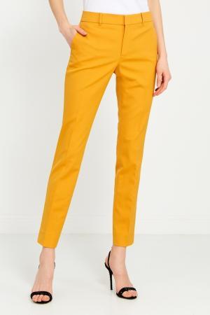 Зауженные брюки Gucci. Цвет: желтый