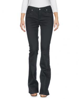 Джинсовые брюки GENETIC DENIM. Цвет: темно-зеленый