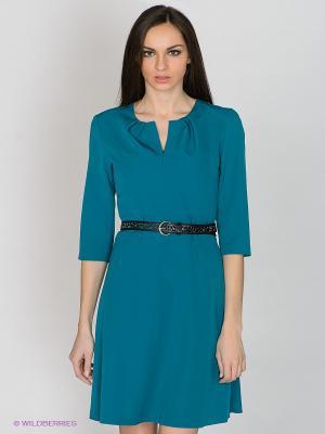 Платье Capriz. Цвет: бирюзовый