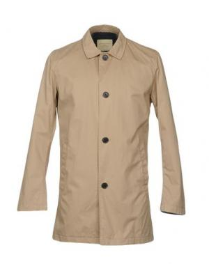 Легкое пальто SELECTED HOMME. Цвет: песочный