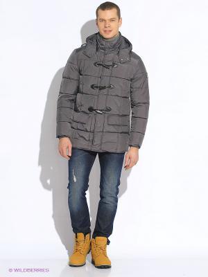 Куртка WPM. Цвет: серый