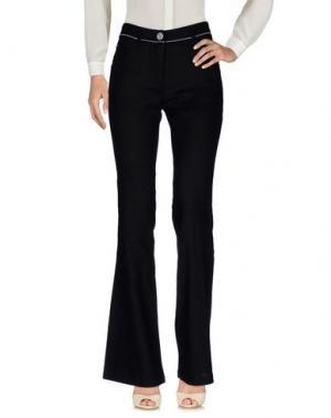 Повседневные брюки VIVI. Цвет: черный