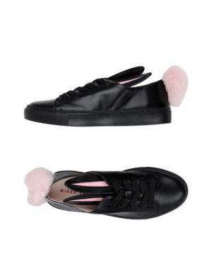 Низкие кеды и кроссовки MINNA PARIKKA. Цвет: черный