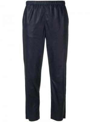 Cropped trousers Drome. Цвет: синий