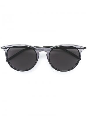 Солнцезащитные очки Tomas Maier. Цвет: серый