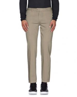 Джинсовые брюки DANIELE ALESSANDRINI. Цвет: серый