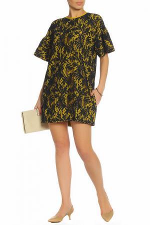 Платье ZHOR&NEMA. Цвет: синий, желтый