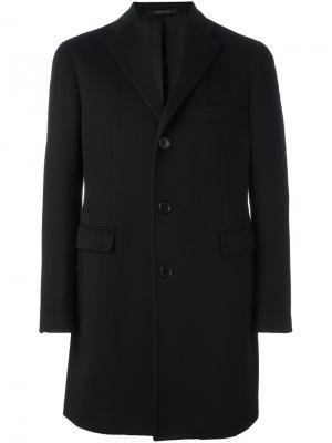 Классическое пальто Tagliatore. Цвет: чёрный