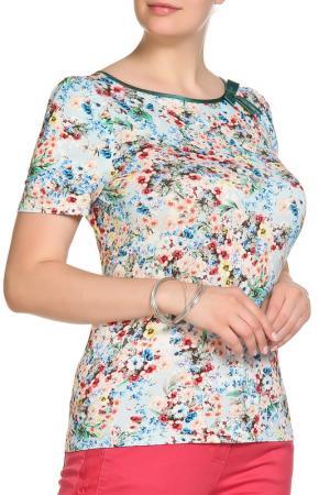 Блуза LOLA PALTINGER. Цвет: голубой