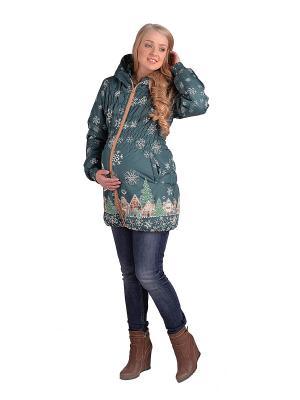 Куртка ДушеГрея. Цвет: темно-зеленый