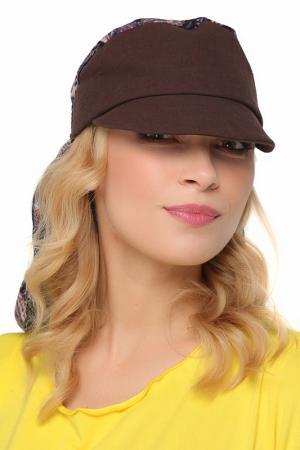 Бандана LakMiss. Цвет: коричневый, сиреневый